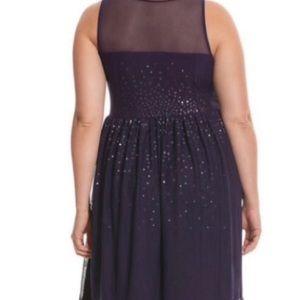 Lane Bryant Dresses - Lane Bryant black sequin party dress